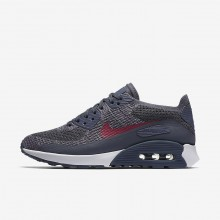 102KJURZ Nike Air Max 90 Lifestyle Shoes For Women Light Carbon/White/Fuchsia Glow/Pink Force