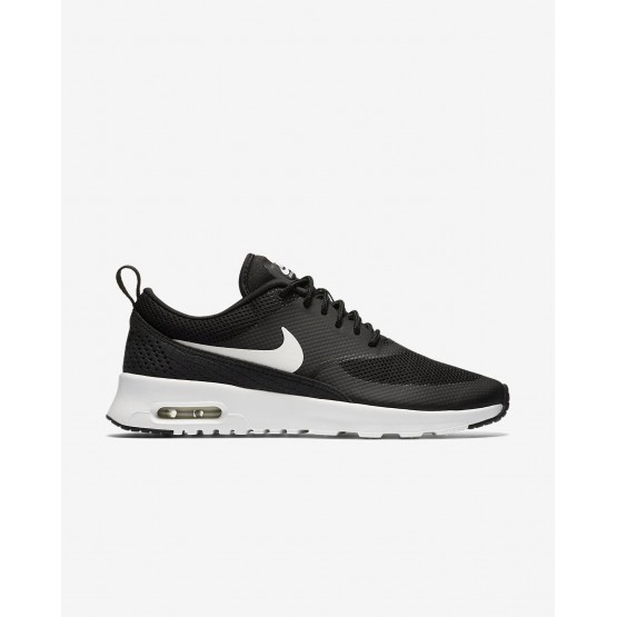 104INJOR Nike Air Max Thea Lifestyle Shoes For Women Black/Summit White