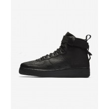 110BCAMO Nike SF Air Force 1 Lifestyle Shoes For Men Black