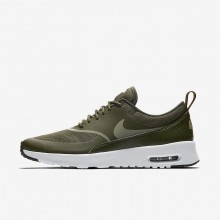 110EXMHR Nike Air Max Thea Lifestyle Shoes For Women Cargo Khaki/Black/Dark Stucco