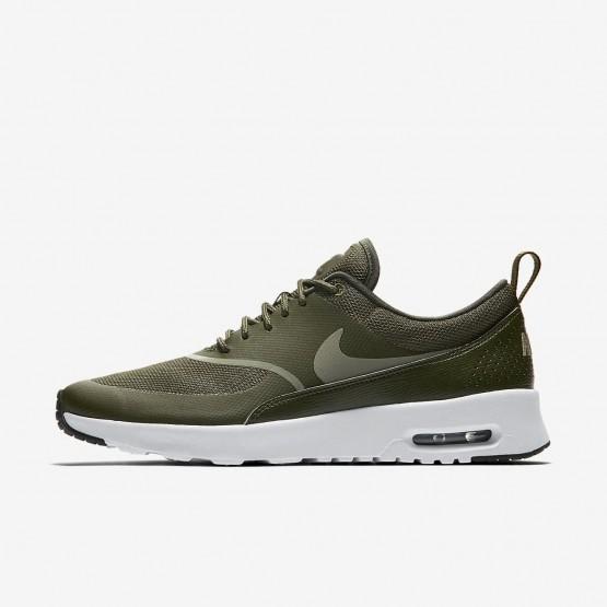 110EXMHR Buty Casual Nike Air Max Thea Damskie Khaki/Czarne/Ciemny