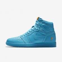 126LGXEU Air Jordan 1 Lifestyle Shoes For Men Blue Lagoon