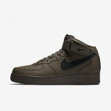 127LWCSY Miesten Lifestyle Kengät Nike Air Force 1 Mustat