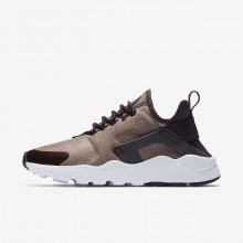 143QAKEG Nike Air Huarache Lifestyle Shoes For Women Port Wine/Metallic Mahogany/Particle Pink