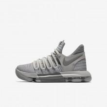144GATFC Zapatillas Baloncesto Nike Zoom KDX Niño Gris/Gris