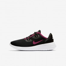 148AOJZV Nike Hakata Lifestyle Shoes For Girls Black/White/Rush Pink