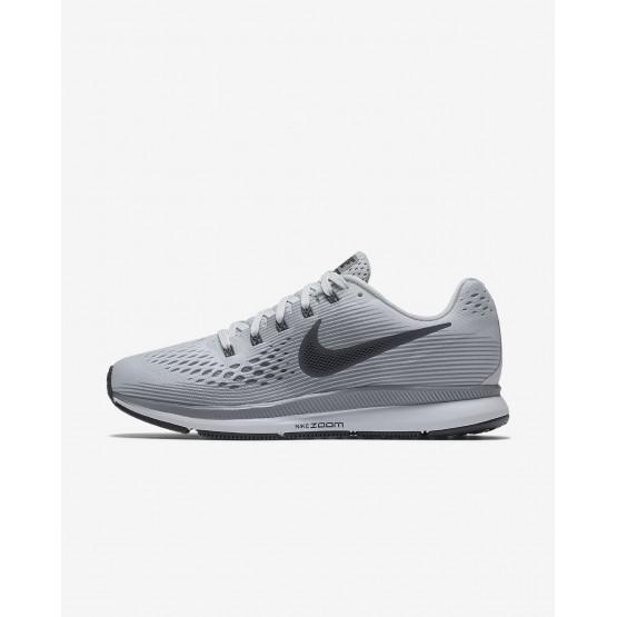 151MQCZA Nike Air Zoom Koşu Ayakkabısı Bayan Platini/Gri/Siyah