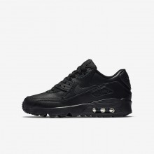 152SBYPA Nike Air Max 90 Lifestyle Shoes For Boys Black