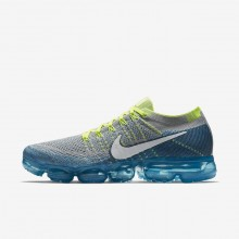 159ALTUV Nike Air VaporMax Running Shoes For Men Wolf Grey/Chlorine Blue/Photo Blue/White