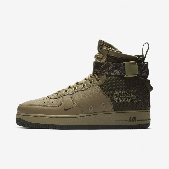 160ONGRI Nike SF Air Force 1 Lifestyle Shoes For Men Neutral Olive/Cargo Khaki