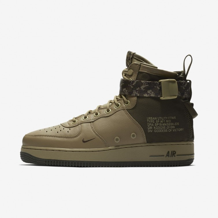 Nike SF Air Force 1 Sko Merker, Billige Nike Livsstil Sko