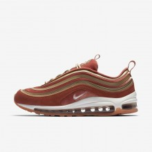 161VNBGA Nike Air Max 97 Lifestyle Shoes For Women Dusty Peach/Bio Beige/Summit White