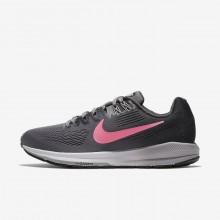 175FANBM Nike Air Zoom Løpesko Dame Grå