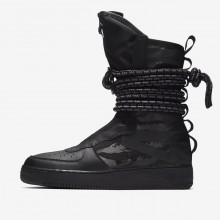184KPILF Nike SF Air Force 1 Lifestyle Shoes For Men Black/Dark Grey