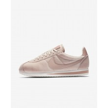 187YOTGZ Nike Cortez Lifestyle Shoes For Women Particle Beige/Metallic Gold/Particle Pink
