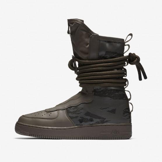 195NBDFM Nike SF Air Force 1 Lifestyle Ayakkabı Erkek Siyah