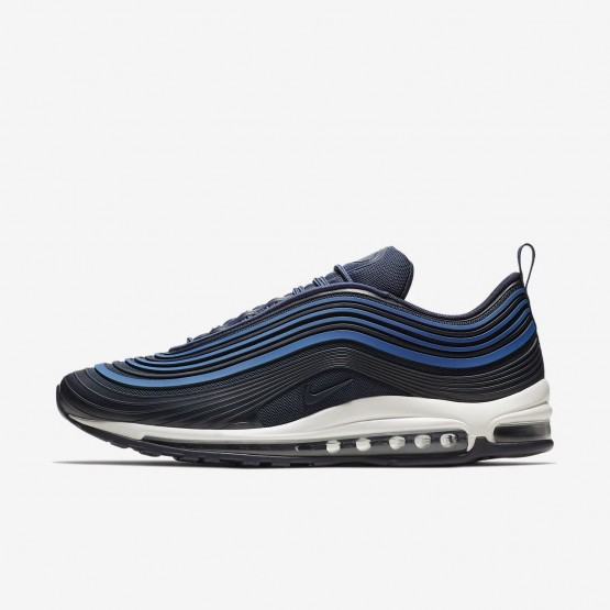 209OFIAM Nike Air Max 97 Lifestyle Shoes For Men Navy/Sail/Obsidian