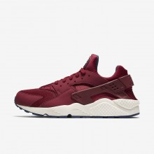 217QNAUF Nike Air Huarache Lifestyle Shoes For Men Team Red/Navy/Sail