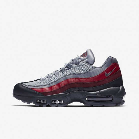 217ZBSVG Nike Air Max 95 Lifestyle Shoes For Men Anthracite/Wolf Grey/Team Red/Cool Grey