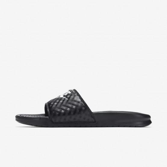 219JYQNE Nike Benassi Lifestyle Shoes For Women Black/White