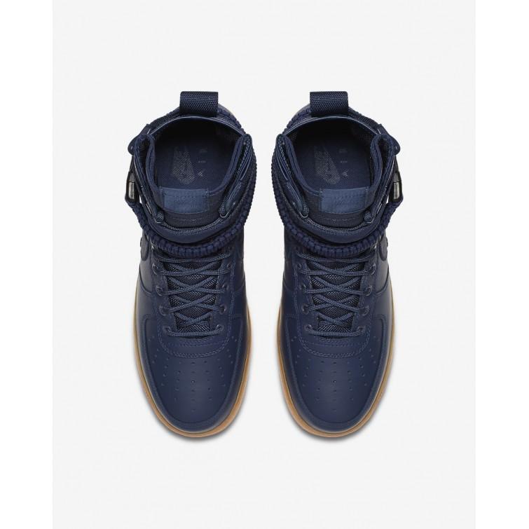 Engros Nike SF Air Force 1 Livsstil Sko Herre Marineblå