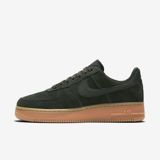 234OVTKF Nike Air Force 1 Lifestyle Shoes For Women Outdoor Green/Gum Medium Brown/Ivory