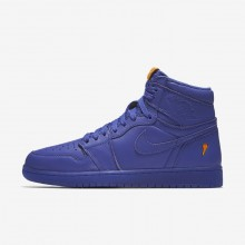 241SNAQC Air Jordan 1 Lifestyle Shoes For Men Rush Violet