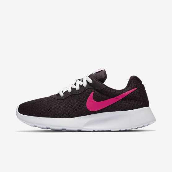 247QCHIM Nike Tanjun Lifestyle Shoes For Women Port Wine/White/Deadly Pink