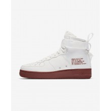248UXSBP Nike SF Air Force 1 Lifestyle Shoes For Men Ivory/Mars Stone