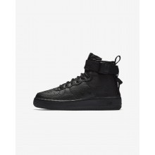 251SLAOF Nike SF Air Force 1 Lifestyle Shoes For Boys Black