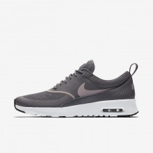 258OLKDN Nike Air Max Thea Lifestyle Shoes For Women Gunsmoke/Black/Particle Rose