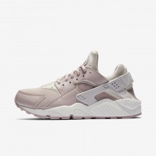 266YWGTE Nike Air Huarache Lifestyle Shoes For Women Vast Grey/Summit White/Particle Rose
