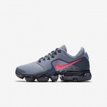 271ILXFJ Nike Air VaporMax Running Shoes For Girls Dark Sky Blue/Thunder Blue/Midnight Navy/Racer Pink