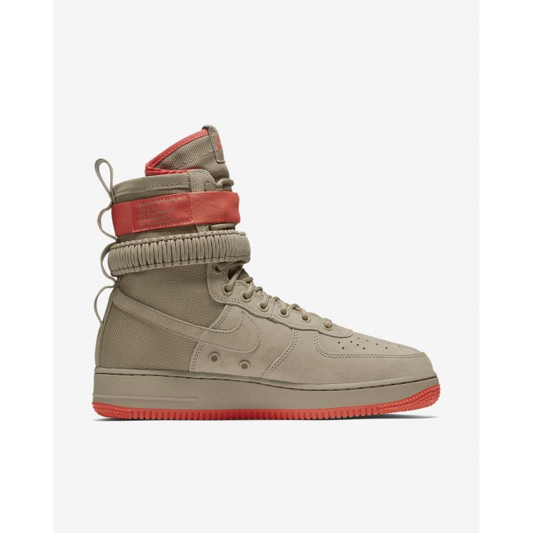 Hurt Buty Casual Nike SF Air Force 1 Męskie KhakiKoralowe