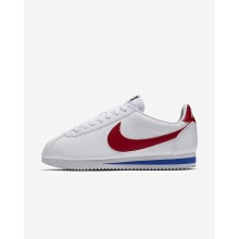 278BSKLR Nike Classic Cortez Lifestyle Shoes For Women White/Varsity Royal/Varsity Red