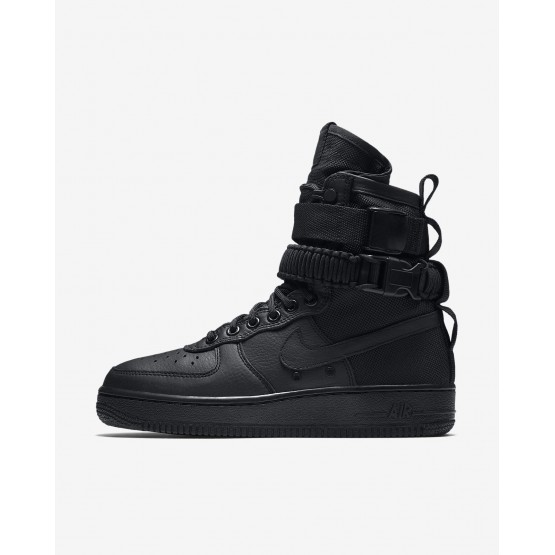 278SQOZX Nike SF Air Force 1 Lifestyle Shoes For Women Black