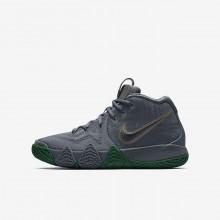 301YXVDR Zapatillas Baloncesto Nike Kyrie 4 Niño Plateadas/Metal Doradas