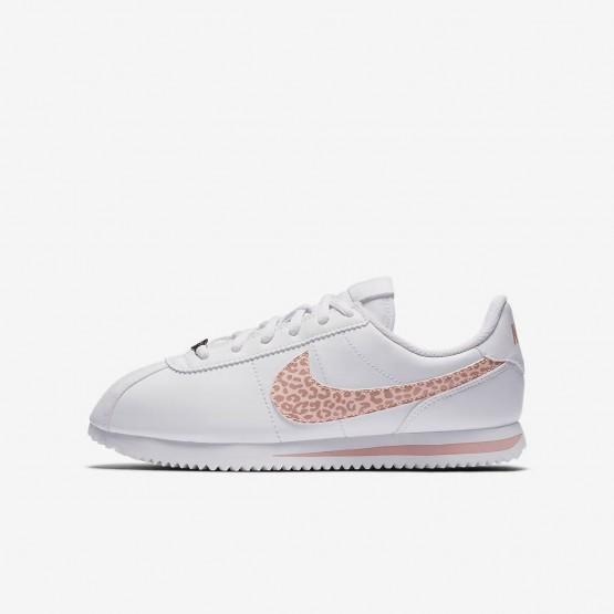 303IHVPT Nike Cortez Lifestyle Ayakkabı Kiz Çocuk Beyaz/Pembe/Mercan