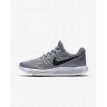 307AQFZO Nike LunarEpic Low Running Shoes For Women Wolf Grey/Cool Grey/Pure Platinum/Black
