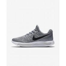 307AQFZO Nike LunarEpic Low Løpesko Dame Grå/Grå/Platina/Svart