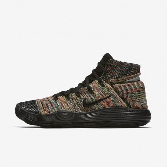 309GSRML Nike React Hyperdunk 2017 Basketball Shoes For Women Black/White/Total Crimson