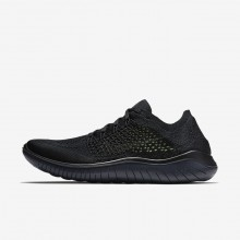 317MKJFP Nike Free RN Running Shoes For Men Black/Anthracite