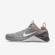 318KMWJI Nike Metcon DSX Treningssko Dame Sølv/Rosa/Hvite