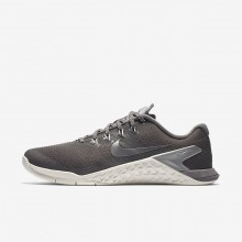 322NAZFP Nike Metcon 4 Training Shoes For Women Gunsmoke/Summit White/Metallic Cool Grey