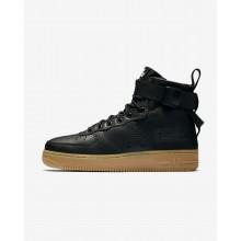325NROFK Nike SF Air Force 1 Lifestyle Shoes For Women Black/Gum Light Brown