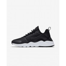 325XBUPS Nike Air Huarache Lifestyle Shoes For Women Black/White