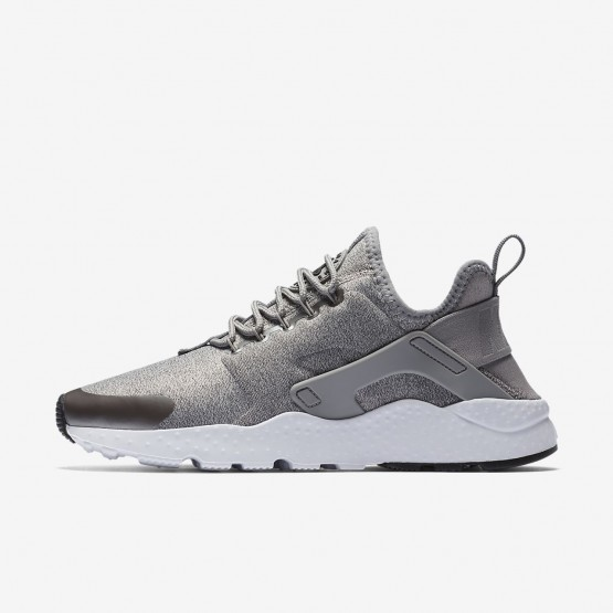 334ICYPL Nike Air Huarache Lifestyle Shoes For Women Dust/Metallic Pewter/Black