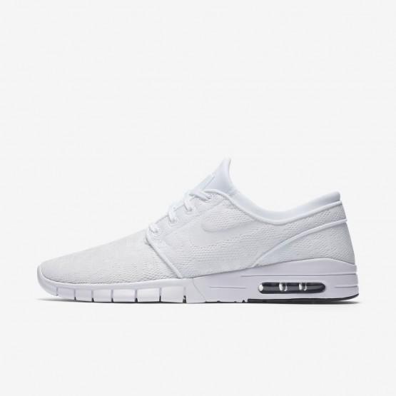 334VDQGY Nike SB Stefan Janoski Max Skateboarding Shoes For Men White/Obsidian