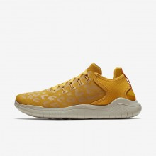 335FKPWH Nike Free RN Running Shoes For Women Yellow Ochre/University Gold/Oil Grey