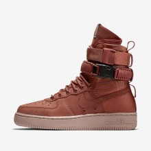 341IXJYR Nike SF Air Force 1 Livsstil Sko Dame Rosa